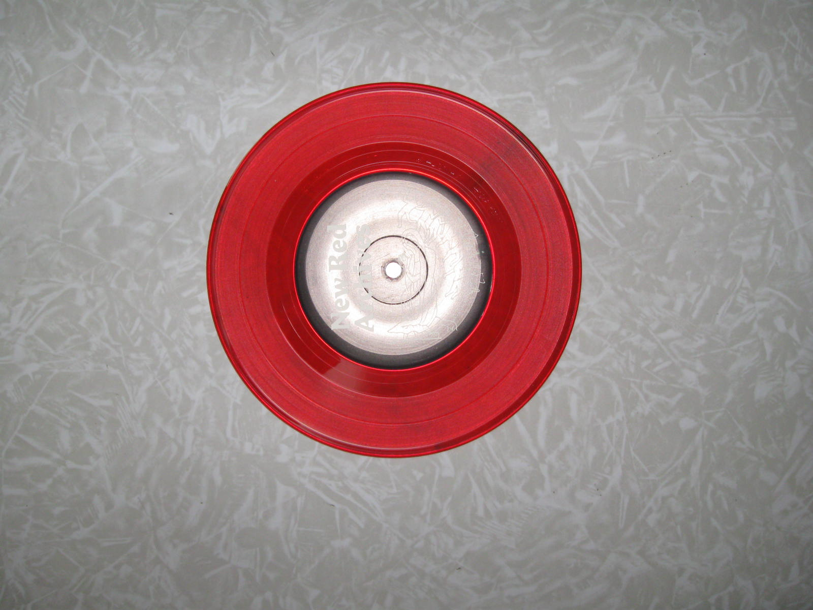 Red Colored Record Vinyl 7 Inch Colored Vinyl Records