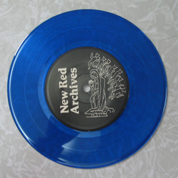 Blue colored record Blue Vinyl 7 Inch Record