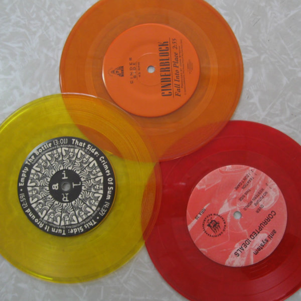 Fall colors colored records Fall colors colored record Fall Colors Pack