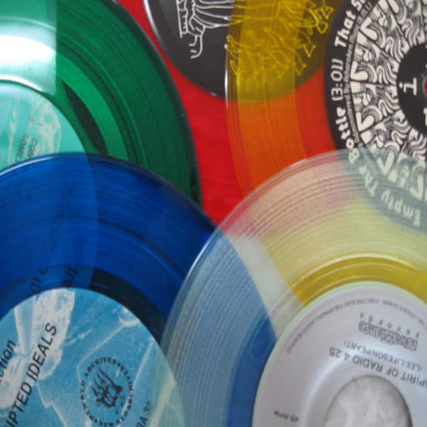 Assorted Colored Record