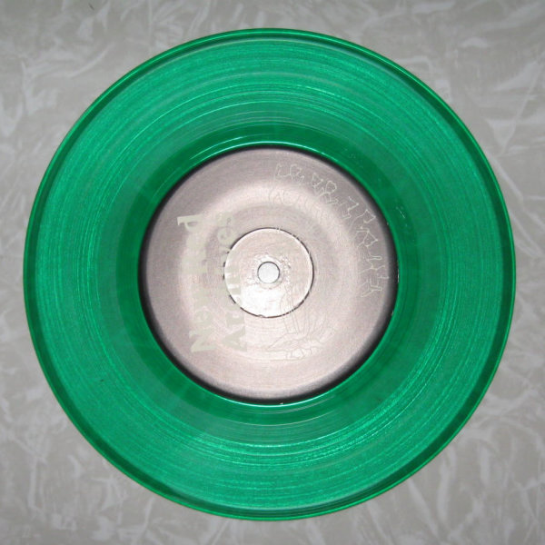 green colored record Green Vinyl 7 Inch Record