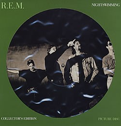 REM Nightswimming picture disc REM - Nightswimming - 12 Inch Picture Disc