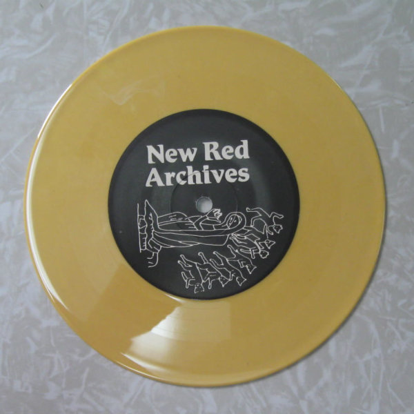 Yellow colored record Yellow Opaque Vinyl 7 Inch Record